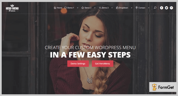 Hero Menu WordPress Drop Down Menu Plugin