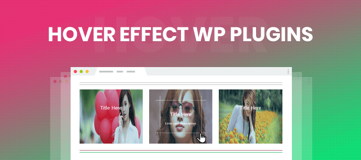 Hover Effect WordPress Plugins