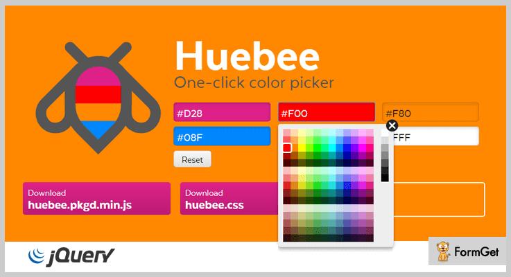 Huebee jQuery Color Picker Plugin