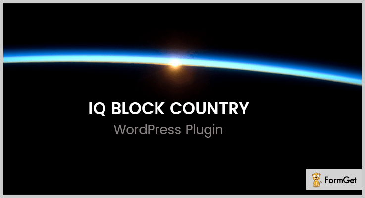 iQ Block Country WordPress Plugin To Block Countries