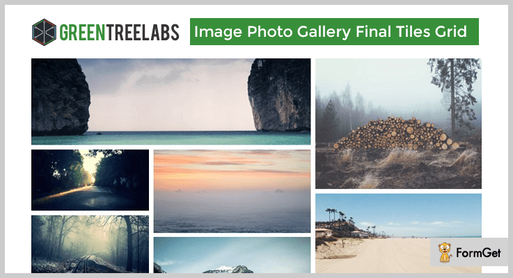 Image Photo Gallery Tiles WordPress Plugin