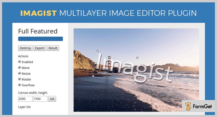 Imagist jQuery Image Crop Plugin