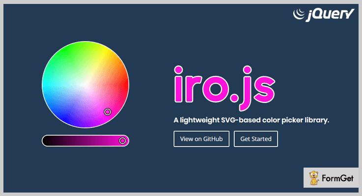 Iro.js jQuery Color Picker Plugin