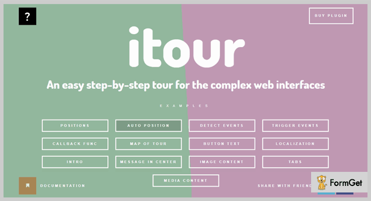 iTour jQuery Tour Plugin