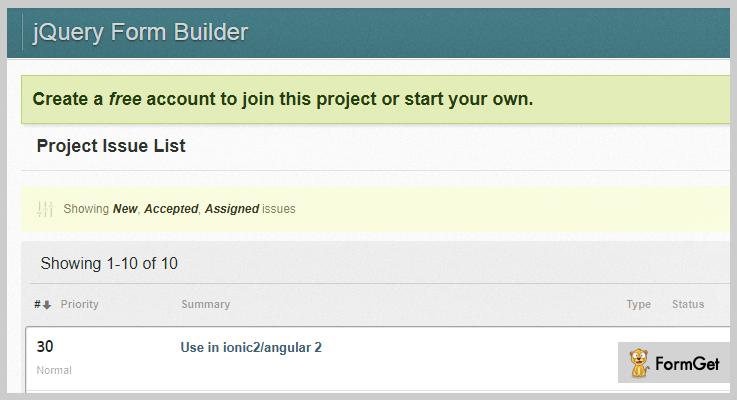 jquery.formbuilder jQuery Form Plugin