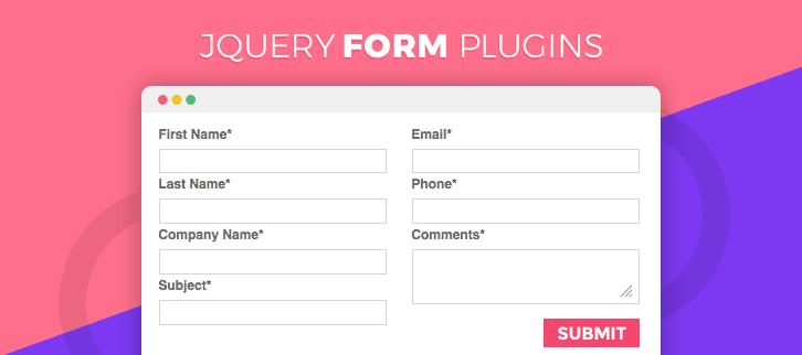 jQuery Form Plugins