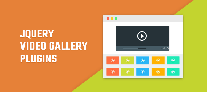 jQuery Video Gallery Plugins