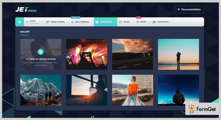 JetMenu WordPress Drop Down Menu Plugin