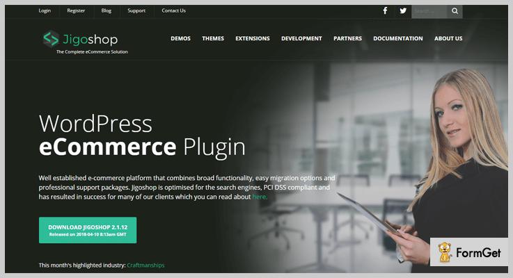 JigoShop Shopping Cart WordPress Plugin