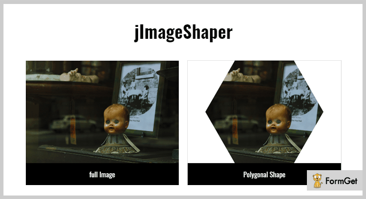 jImage Shaper jQuery Image Crop Plugin
