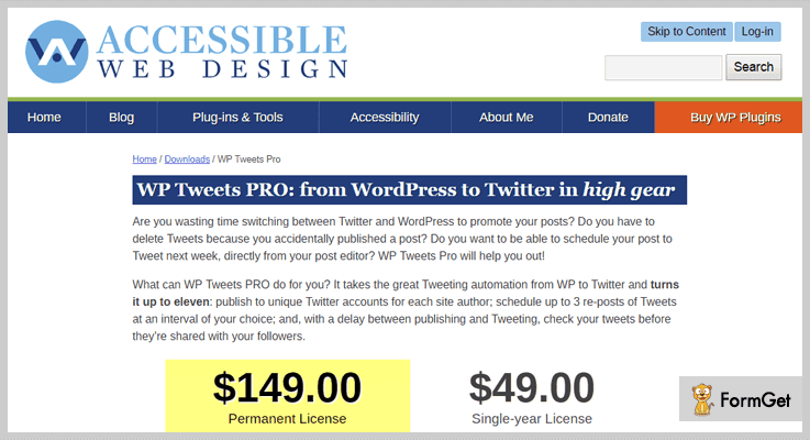 WP Tweets Pro Twitter WordPress Plugins