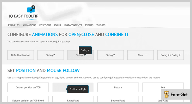 jqEasytooltip Tooltip WordPress Plugin