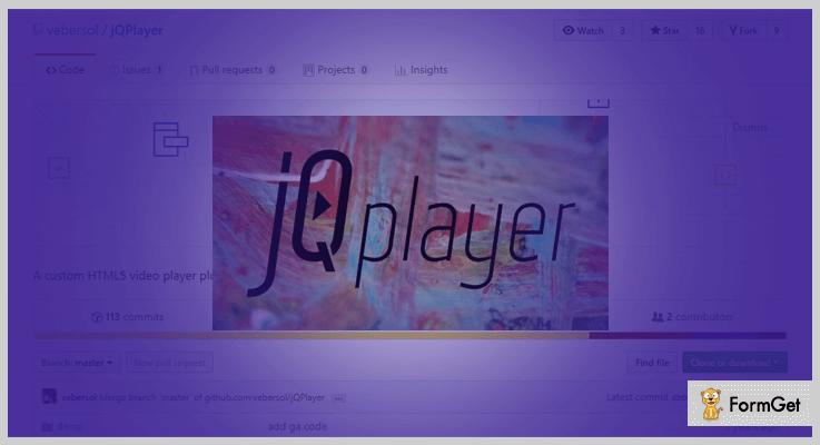 jQPlayer jQuery Video Player Plugin