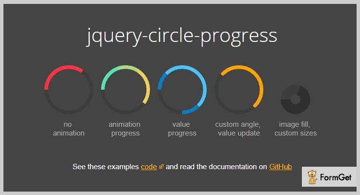 jQuery Circle Progress jQuery Progress Bar Plugins