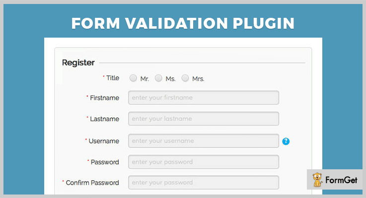 jQuery Form Validation Plugin jQuery Validation Plugin