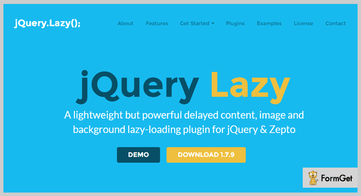 Lazy jQuery Lazy Load Plugin