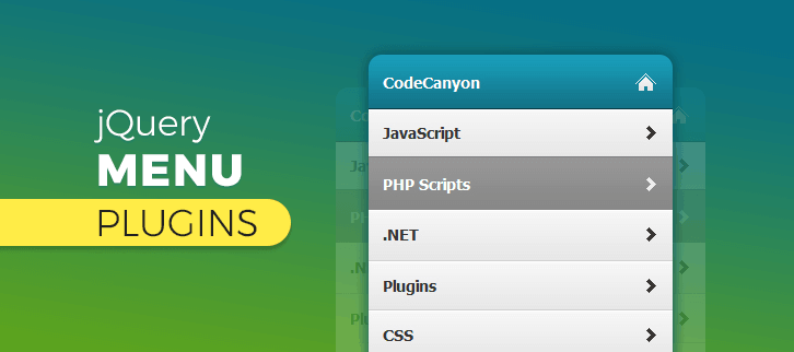 jQuery Menu Plugins