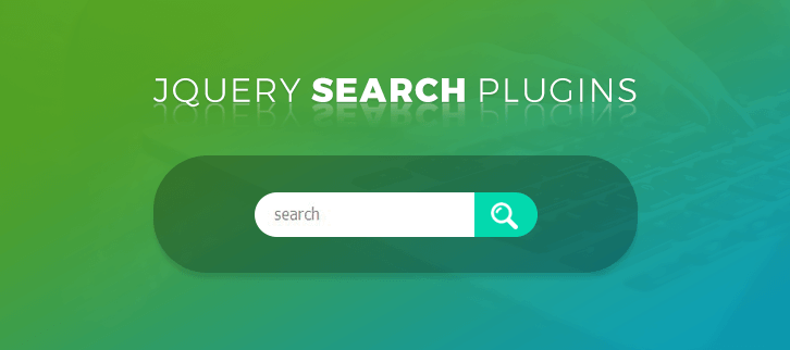 jQuery Search Plugins