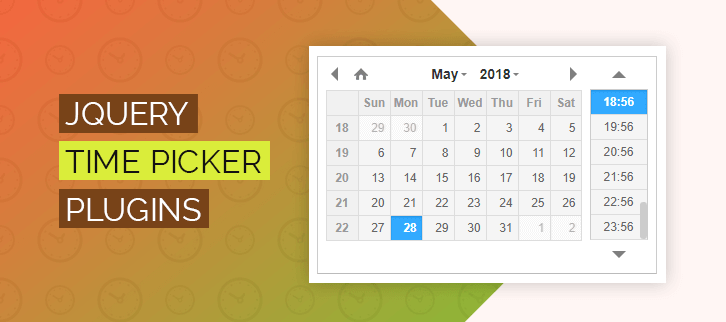 5+ jQuery Timepicker Plugins 2019 (Free and Paid) | FormGet