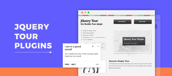 jQuery Tour Plugins