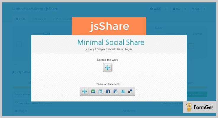 jsShare jQuery Social Media Plugins