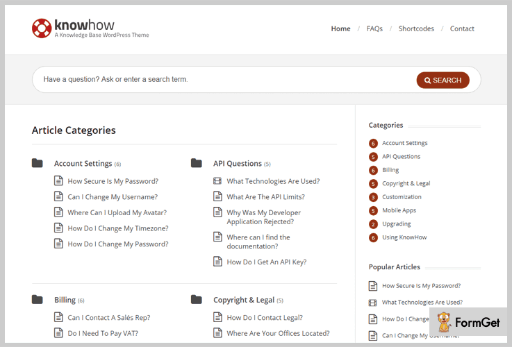 KnowHow Wiki WordPress Theme