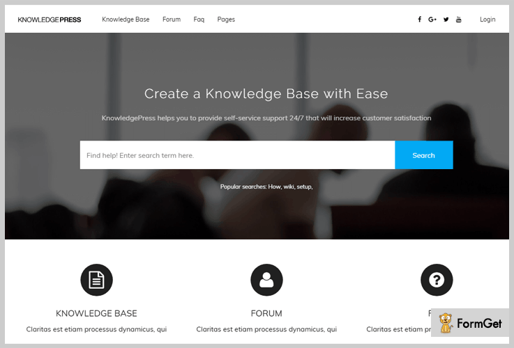 KnowledgePress Wiki WordPress Theme