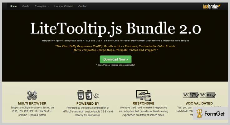 Lite TooltipJQuery Tooltip Plugin