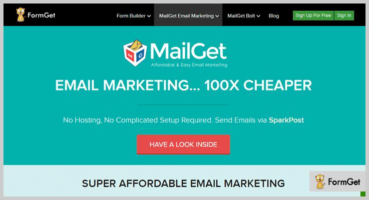 MailGet Marketing WordPress Plugin