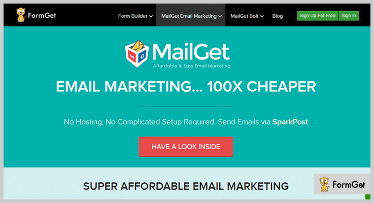 Email Marketing by MailGet Must Have WordPress Plugins
