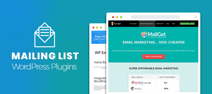 Mailing List WordPress Plugins