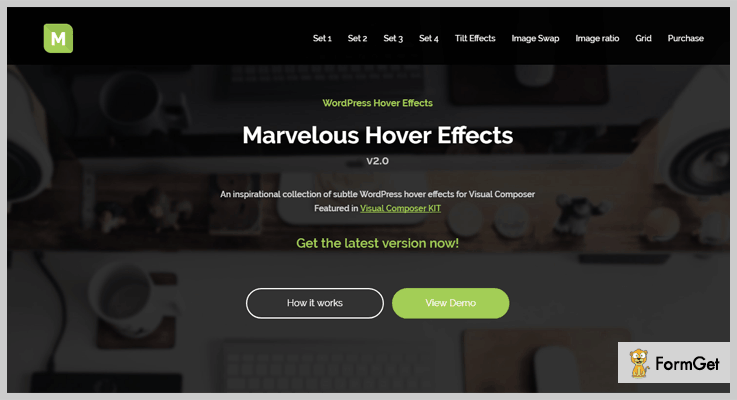 Marvelous Hover Effects Hover Effect WordPress Plugin