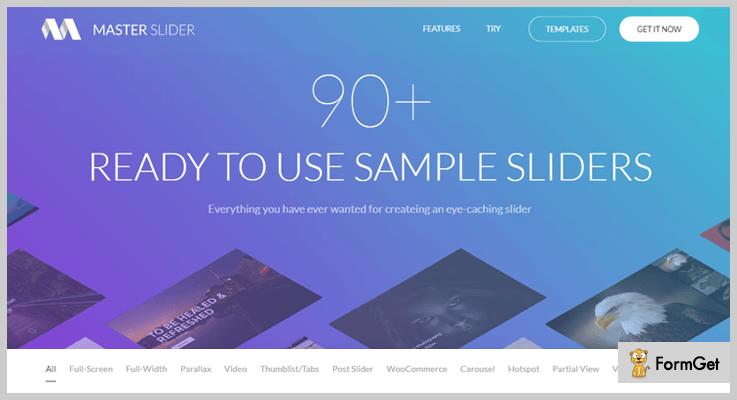 Master Slider Parallax Effect WordPress Plugins