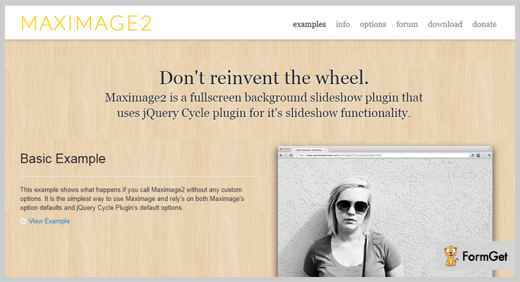 MaxImage Fullscreen Slideshow jQuery Plugin