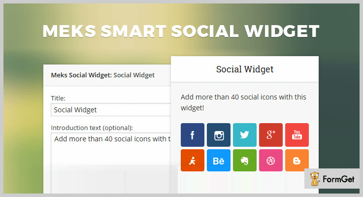 Meks Smart Social Widget WordPress Plugin