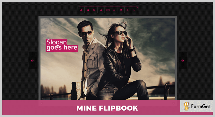 Mine Flipflop jQuery FlipBook Plugin