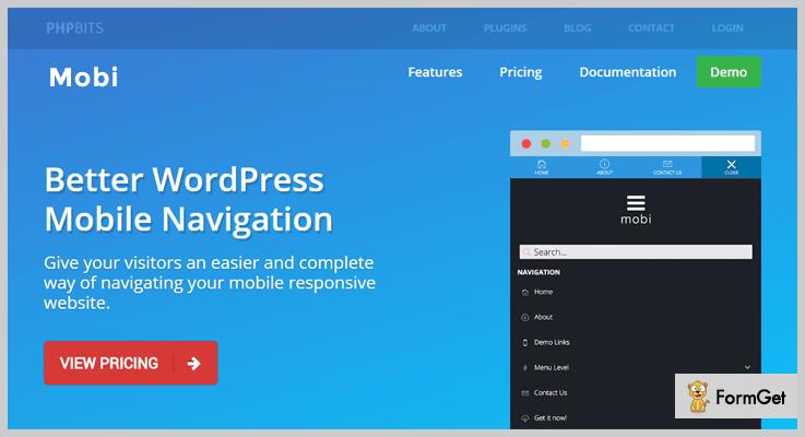 Mobi Mobile Menu WordPress Plugin
