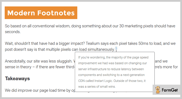 Modern Footnotes WordPress Footnote Plugins