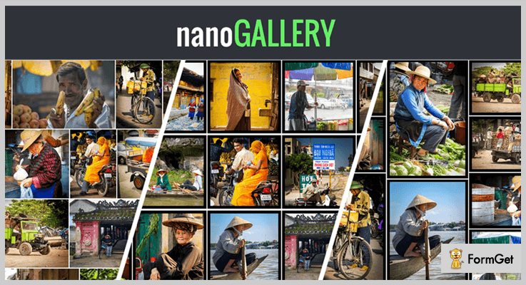 nanoGALLERY jQuery Image Gallery Plugins