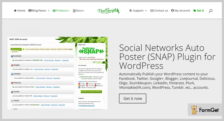 SNAP Auto Post WordPress Plugin