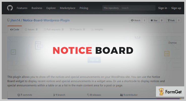 Notice Board WordPress Plugin Notice Board WordPress Plugin