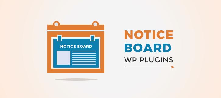 Notice Board WordPress Plugins