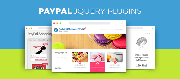 PayPal jQuery Plugins