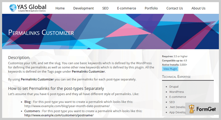 Permalinks Customizer WordPress Permalink Plugin