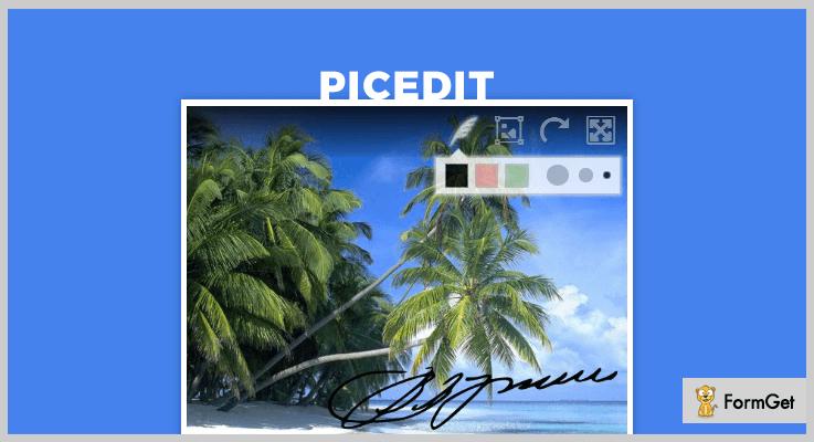 PicEdit jQuery Image Upload Plugin