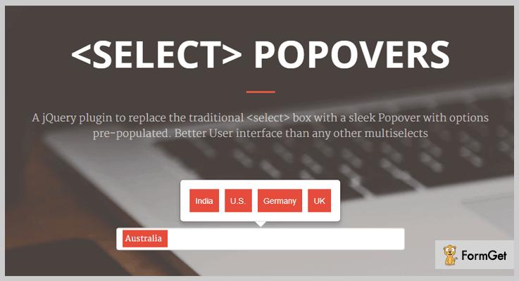 Popselect jQuery SelectBox Plugin