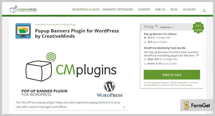 Popup Banners WordPress Banner Plugin
