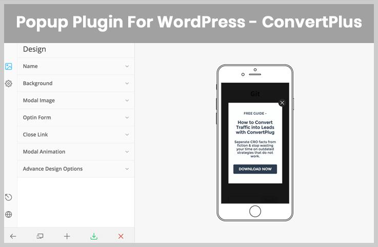 ConvertPlus - Popup WordPress Plugins