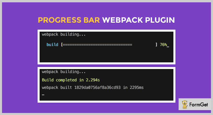 Progress Bar Webpack Plugin jQuery Progress Bar Plugins