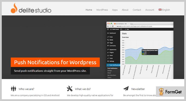 Push Notification WordPress Push Notification Plugin